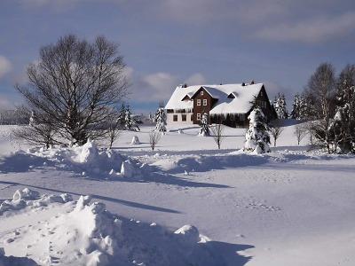 Obrazem: Jizerka a okolí v lednu 2019