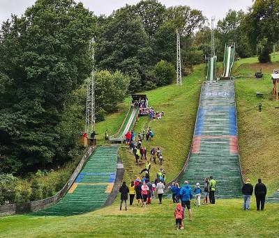 Jizerský klub lyžařů Desná se účastnil závodů v Oseku u Teplic