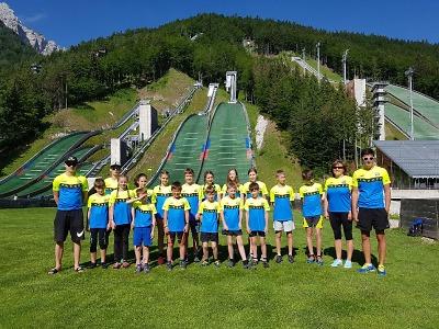 Skokani z Desné měli soustředění se závody ve Slovinsku