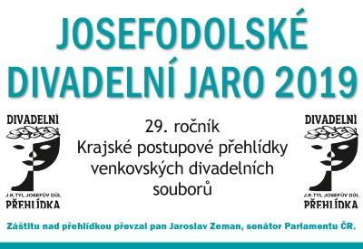 Ochotníci se sjedou na 29. ročník Josefodolského divadelního jara