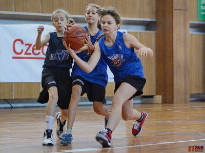 ZŠ Šumava reprezentovala v juniorské NBA