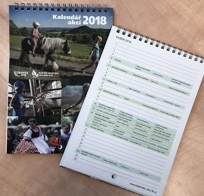 Vyšel nový kalendář ekovýchovných a zemědělských akcí
