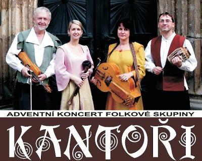 Skupina Kantoři zavítá do Tanvaldu s vánočním koncertem