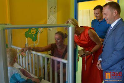 Kapka naděje pomáhá také v jablonecké nemocnici