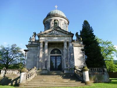 Klingerovo mauzoleum je kouskem Itálie na Frýdlantsku