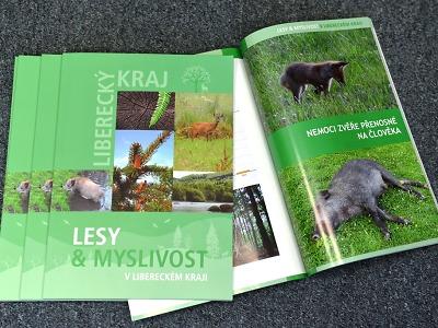 Lesy a myslivost je téma nové publikace, kterou vydal Liberecký kraj