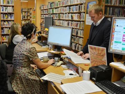 Nejen prvoregistrace zdarma lákaly na jablonecký Týden knihoven