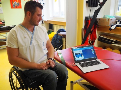 Pacienti na vozíku získají v Liberci přesnější analýzu správného sedu