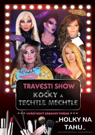 Travesti show Holky na tahu přijíždí i do tanvaldského kina
