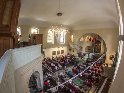 Jablonecké kostely o prázdninách nabídnou koncerty i originální CD