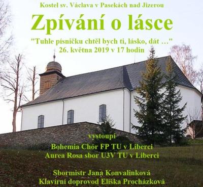 Pasecký kostel rozezní písničky o lásce