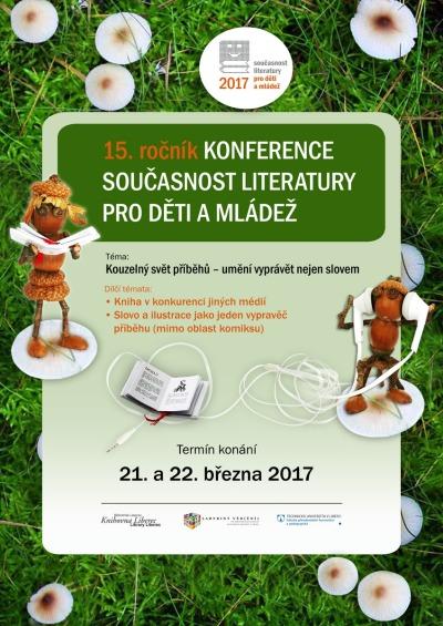 Konference Současnost literatury pro děti a mládež slaví 15. výročí