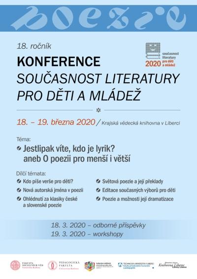 Konference v Krajské vědecké knihovně zmapuje svět dětí a poezie