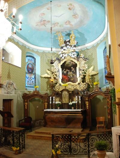 Oltář v kostele sv. Josefa na Krásné se uchází o titul Památka roku