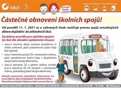 Od 11. ledna upravují jízdní řád, pokračuje prázdninový provoz