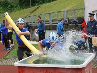 Soutěž HZS Libereckého kraje v požárním sportu se konala v Liberci