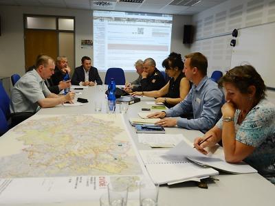 Taktické cvičení prověřilo připravenost krajských krizových orgánů