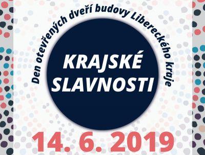 Program slavností a Dne otevřených dveří Libereckého kraje 14. 6. 2019