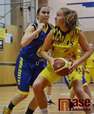 Pokračovala I. liga basketbalistek čtvrtfinálovým play-off