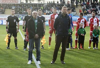 Jiří Zemler a Milan Fukal v Klubu legend jabloneckého FK