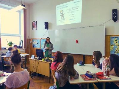 Jablonečtí středoškoláci sbírají hlasy pro projekty svých škol