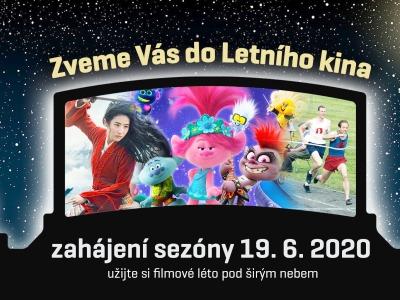 Letní kino v Jablonci otevře v pátek 19. června