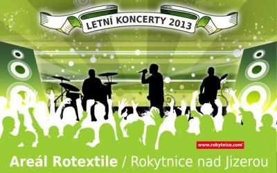 Areál Rotextile v Rokytnici nad Jizerou oživí v létě série koncertů
