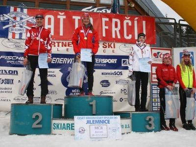Jablonečtí Antošová a Břečka medailoví na šampionátu dorostu