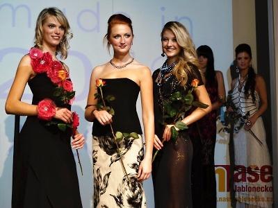 Přehlídku Made in Jablonec 2013 ozdobí Miss Tereza Chlebovská