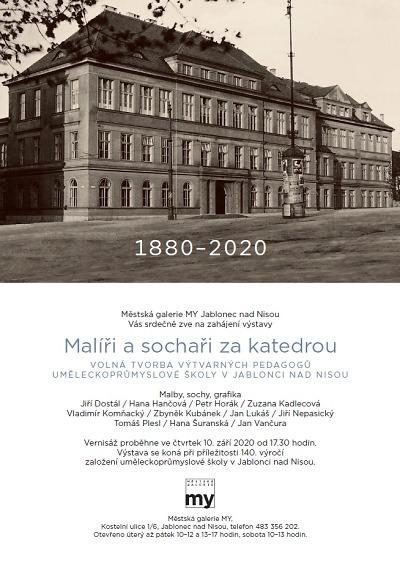 Výstavou Malíři a sochaři za katedrou oslaví 140. výročí SUPŠ Jablonec