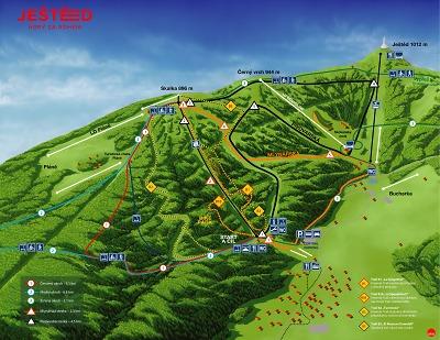 Skiareál Ještěd představil plány na novou sjezdovku veřejnosti