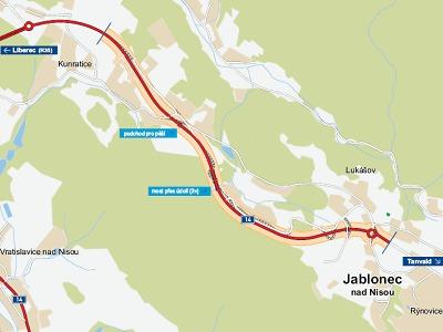 Začíná stavba silnice z Liberce do Jablonce, od března čekejte uzavírky