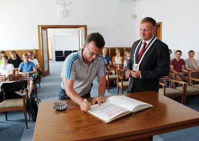 Návštěva německých studentů v Jablonci je již pravidlem