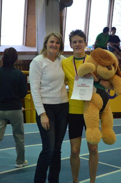 Mladí atleti lámali české halové rekordy