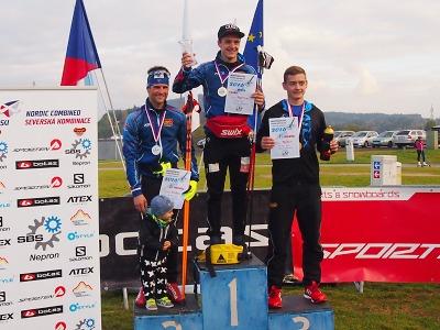 Tomáš Portyk obhájil titul na MČR v letní severské kombinaci