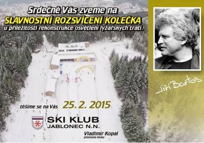 Při Memoriálu Jirky Bartoše slavnostně rozsvítí lyžařské tratě
