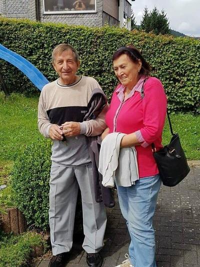 Manželé Bakešovi slaví 50 let společného života