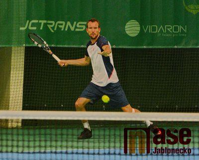 Tenisový turnaj mužů o víkendu končí