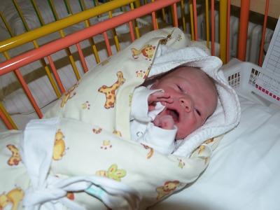 Prvním miminkem v jablonecké nemocnici v roce 2020 je Teodor