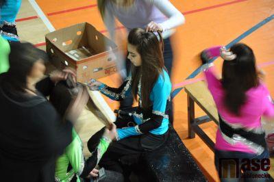 Obrazem: Ranní přípravy tanečních skupin na mistrovství republiky