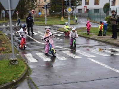 Jablonecké dětské dopravní hřiště je školám k dispozici