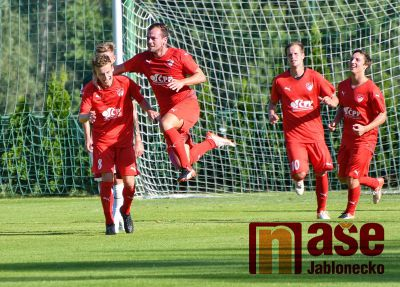 Obrazem: V pohárovém souboji Jablonců nakonec uspěl ten ligový