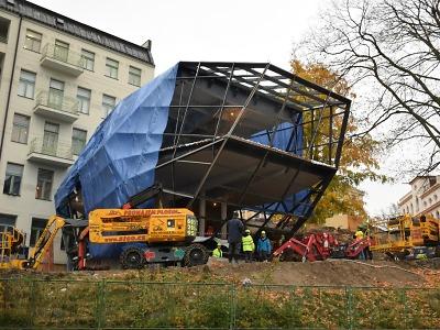 Přístavba jabloneckého muzea se otevře až na konci příštího roku