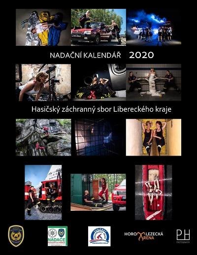 HZS Libereckého kraje vydává nadační kalendář 2020