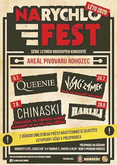 Narychlofest přivede kapely do areálu Pivovaru Rohozec