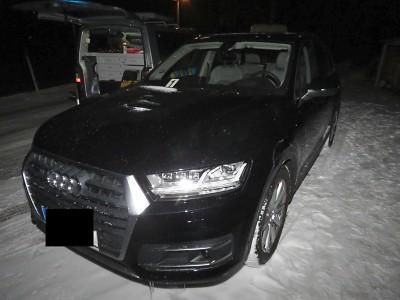 Řidič se zalekl u Albrechtic protijedoucího vozidla a došlo ke srážce