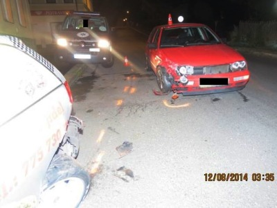 Řidička se údajně lekla kočky a narazila do jiného auta