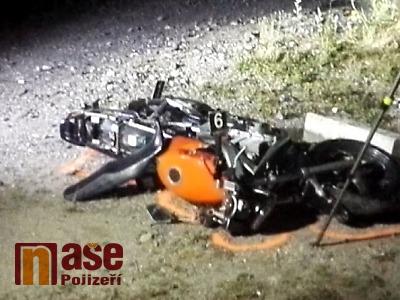K vážné nehodě motorkáře došlo v Harrachově
