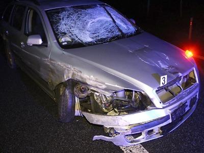 Na rádelské křižovatce havaroval řidič pod vlivem alkoholu