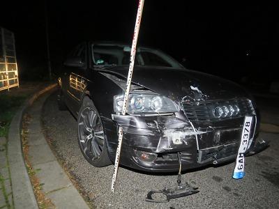 Boural v Jablonci pod vlivem alkoholu a poté od nehody ujel